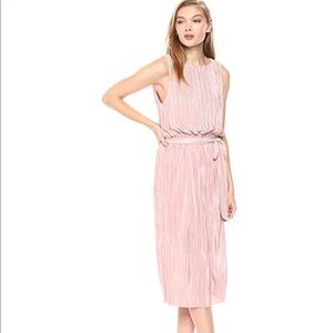 Soft Pink BB Dakota Pleated Dress